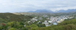 View of Clifden from the D'Arcy Memorial - Photo by Tony Calland
