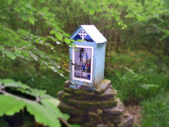 Derrycrag Shrine - photo by Tony Calland