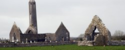 Kilmacduagh Monastery - Photo by Tony Calland