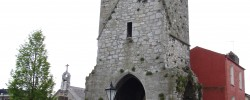 Red Abbey Tower - Photo by Liam O'Connell