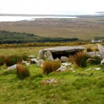 Wedge Tomb near the Famine Village on Achill Island - Photo by Corey Taratuta