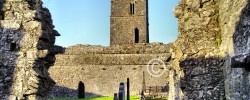 Clare Abbey: Clarecastle, Co. Clare, Ireland
