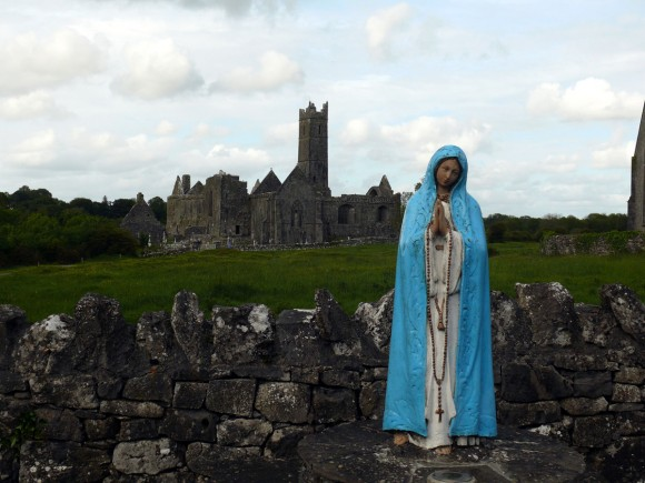 Marian shrine near Quin Abbey - Photo by Christy Nicholas