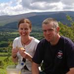 Picnic on Slievenamuck overlooking the Glen of Aherlow