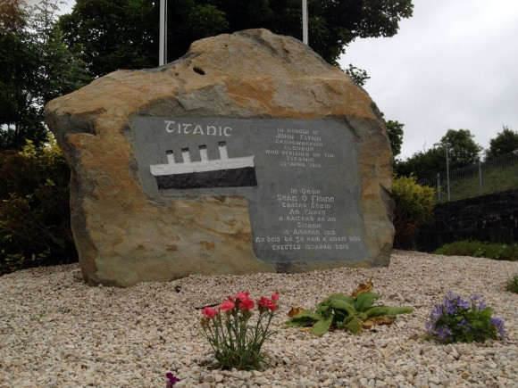 Titanic Memorial in Clonbur