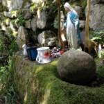 Bullaun stone at St Berrihard's Kyle, Co Tipperary