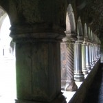 The Cloister at Quin Abbey - Photo by Liam Moloney via Flickr Creative Commons - http://www.flickr.com/photos/tir_na_nog/3816566033/