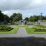 Portumna Castle Formal Garden - Photo by Tony Calland