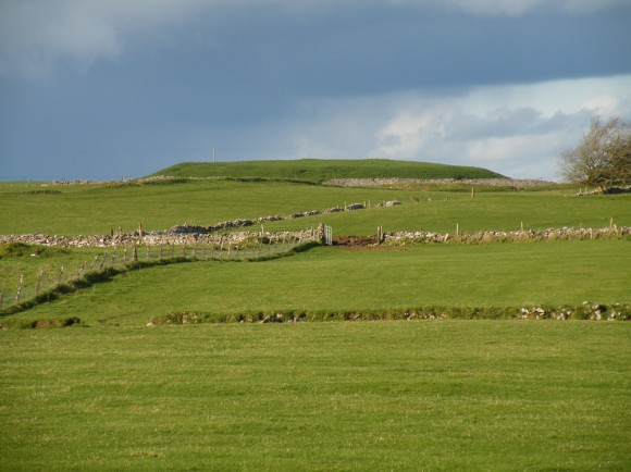 Rathcroghan Main Mound from the South
