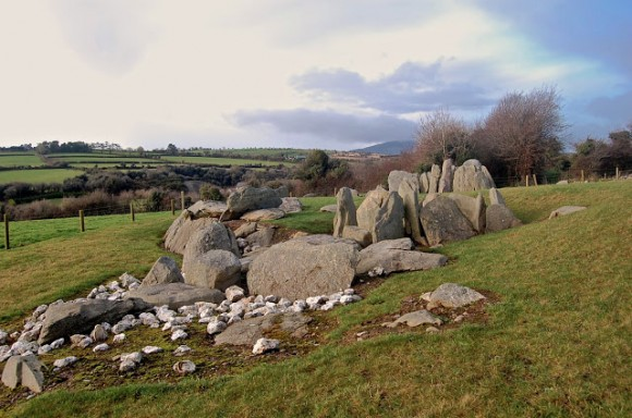 Knockroe Passage Tomb – Photo by Abarta Audioguides