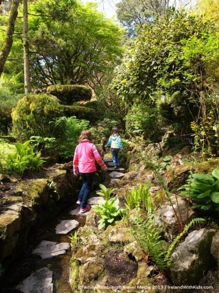 Stepping Stones of Exploration, Japanese Garden, Irish National Stud