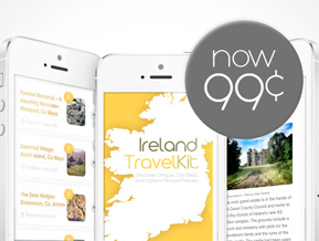 Ireland Travel Kit now 99¢
