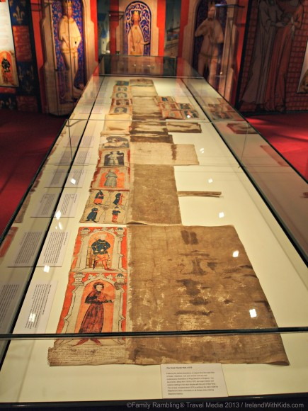 Great Charter Roll 1372, Medieval Museum, Waterford, Ireland
